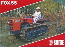 Farm Tractor Brochure - Same - Fox 55 - Crawler  (F6051)