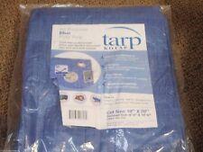 TARP BLUE POLYETHYLENE BOAT STORAGE COVER 136 97081B 10FT X 20FT BOATINGMALL