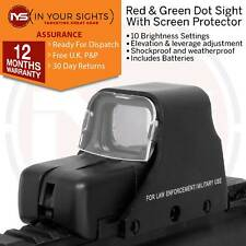 Airsoft 551 Type Holographique Rouge + Green Dot Sight + protecteur d'écran + Piles