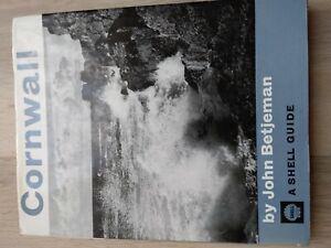 Shell Guide To Cornwall by John Betjeman