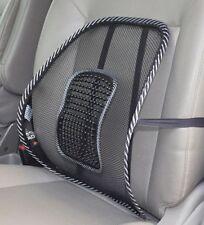 2 x Lordosenstütze Auto KFZ Rückenlehne Lendenkissen Stuhl Sitz Sessel Stütze