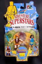 THUNDARR & ARIEL I-MEN Collection Figures MINIMATES size Hanna Barbera toy MOC