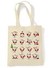SANTA CLAUS SHOULDER BAG Present Gift Xmas Father Christmas Stocking Filler