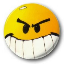 POG Smiley - 2.5cm / 25mm Botón Insignia - ORIGINAL Culto Clásico chargrin