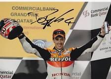 Repsol Honda, Andrea Dovizioso signé photo 12x8 2010.