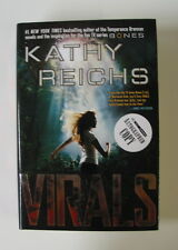 "KATHY REICHS signed ""Virals"" Book 1/1 HARDCOVER Fox TV Series BONES"