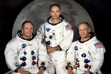 New 5x7 NASA Photo: Apollo 11 Astronauts, First Men on the Moon