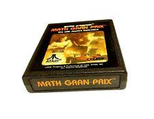 Math Gran Prix (Atari 2600, 1982) Cart Only, Tested