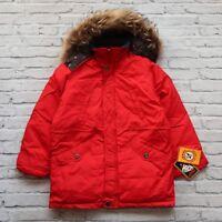Vintage New 80s Jekel Extra Goose Down Fur Jacket Size M S