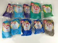 Lot of 10 ~ Ty Beanie Babies ~ McDonalds Happy Meal Toys 1998 and 1999