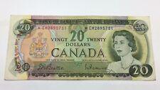 1969 Canada Twenty 20 Dollars *EM Series Circulated Replacement Banknote C834