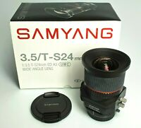 SAMYANG T-S 24 / 3,5 ED AS UMC