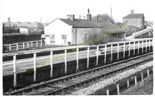Shildon Railway Station Photo. Bishop Auckland to Heighington and Stockton. (5)