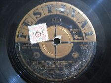 Festival EP Cab Calloway and The Three Bells with Rare Paper Cover - XP45-663