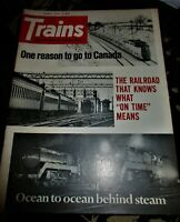 Trains Magazine April 1971 Issue