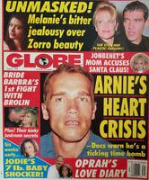 Globe Magazine August 4 1998 Arnold Schwarzenegger - Jonbenet - Melanie Griffith