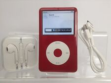 Apple iPod Classic 7th Generation White/Red (was Silver) (160GB) - Customised