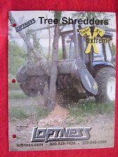 Loftness Timber Ax Extreme Tree Shredders Brochure