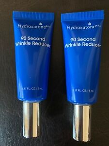 Hydroxatone 90 SECOND WRINKLE REDUCER - (2) 0.17 oz - .34oz total