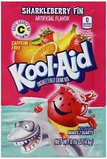 50 Packs Sharkleberry Fin Kool Aid Drink Mix Vitamin C