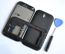 Black Faceplate Fascia Housing Case Cover For HTC One SV C525e C520e+Side Button