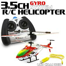 S107/S107G R/C Helicopter Radio Controller With Gyro 3.5CH LED RC Toy Game Gift