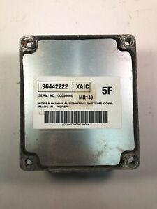 2004 - 2005 Chevrolet Aveo Electronic Control Module Unit ECU ECM 96442222 OEM