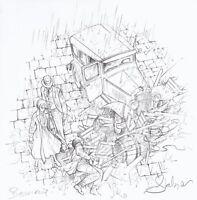 La croix de Cazenac, ex-libris signé par Stalner, SIRO et Boisserie