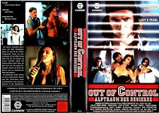 "VHS - FSK 18 "" Out of CONTROL - Albtraum der Begierde "" (1992) Lesley-Anne Down"