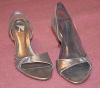 Daniel HECHTER ♥ Riemen Sandalen ♥ Pumps ♥ Schuhe ♥ Gr. 39 ♥ *NEU* ♥ SILBER Pfen