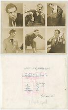 1947 COULTER IRWIN PHOTO SOCIETY OF MODELS PROFESSIONAL HEADSHOT VINT ORIGINAL