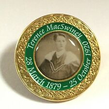 Terence MacSwiney badge,Irish Republican ,MAYOR OF CORK ,died Hunger strike,1920