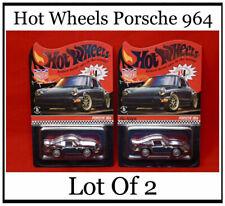 Hot Wheels PORSCHE 964 Magnus Walker Urban Outlaw 2019 Limited Edition Lot Of 2