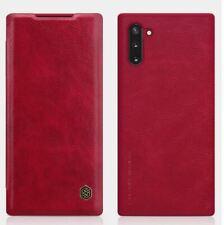 Original Nillkin Samsung Galaxy Note 10 Note10 Plus + PU Leather Flip Case Cover
