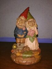Vintage Tom Clark Gnome Bride and Groom Figurine 1994 Signed And Numbered