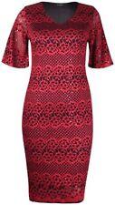 Nylon V-Neck Dresses for Women with Sequins
