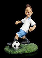 Funny Sports Figur - Fußballspieler im weißen Trikot - Lustiger Sportler Sport