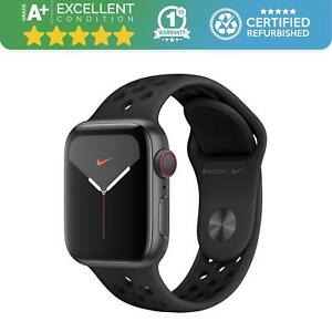 Apple Watch Series 5 Nike 40mm | GPS - Cellular | Space Grey with Black Band