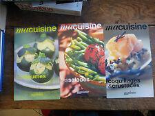 ma cuisine coquillages et crustacés + les légumes + les salades Figaro collectio