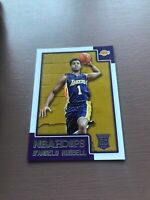 D'Angelo Russell Rookie Card: 2015-16 Panini Hoops Basketball - Lakers Card