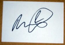 MICAH RICHARDS MANCHESTER CITY PERSONALLY SIGNED AUTOGRAPH INDEX CARD