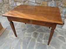 tavolo con cassetto epoca luigi XVI a gambe strozzate