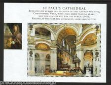 GB MNH STAMP SHEET M/S 2008 St Paul's Cathedral SG MS2847 UMM