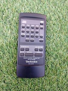 TECHNICS RAK SA301E REMOTE CONTROL IN BLACK OPERATES SA-GX200/GX100/GX230/GX190