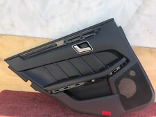 31K MERCEDES W212 AMG S E63 E550 REAR LEFT DRIVER NAPA LEATHER DOOR PANEL OEM