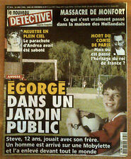 nouveau DETECTIVE n°876 du 30 juin 1999 anvers comte de paris monfort