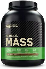 Optimum Nutrition Serious Mass Weight Gainer Protein Powder, Vitamin C, Zinc and