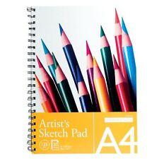 A4 spiral bound artiste croquis dessin peinture livres pads 135GSM 30 feuilles