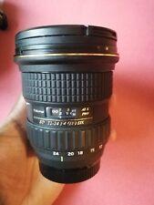 Tokina AT X124 AF PRO DX 12-24mm f/4.0 DG Lens for Nikon