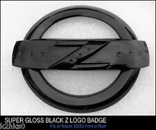 350Z z logo super Emblème Noir brillant badge fairlady 350 z bodykit